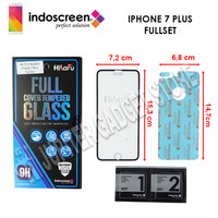iPhone 7 Plus Hikaru Tempered Glass Full Cover - ORI