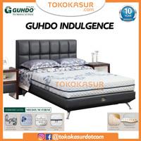 Guhdo Indulgence Full Latex 180x200 Komplit Set Sandaran Legacy