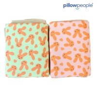 [PP] Soft Blanket / Selimut bulu - Rabbit PINK 120 x 150