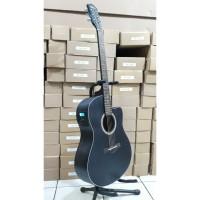 Gitar Akustik Elektrik Tuner Spectrum SP-100CNS-BK Original Import