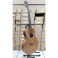 Gitar Akustik Elektrik Tuner Cowboy GW-38NS Body Slim Original Import