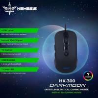 Mouse Gaming NYK Nemesis HK-300 Darkmoon Garansi 1 Tahun Semarang