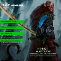 Headset Gaming NYK Jugger HS-M01 Garansi 1 Tahun Semarang