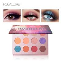 FA61 FOCALLURE 12 Colors Eyeshadow #WONDER