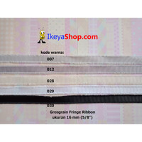 Grosgrain Fringe Ribbon ukuran 1,6 cm (5/8″) page 1