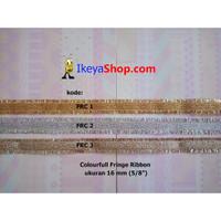 Colourful Fringe Ribbon ukuran 1,6 cm (5/8″)