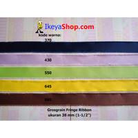 Grosgrain Fringe Ribbon ukuran 3,8 cm (1-1/2″) page 3