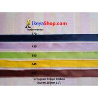 Grosgrain Fringe Ribbon ukuran 2,5 cm (1″) page 3