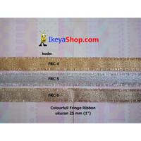 Colourful Fringe Ribbon ukuran 2,2 cm (7/8″)