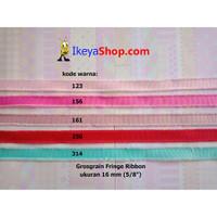 Grosgrain Fringe Ribbon ukuran 1,6 cm (5/8″) page 2