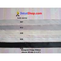 Grosgrain Fringe Ribbon ukuran 3,8 cm (1-1/2″) page 1