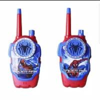 Walkie Talkie Mainan Anak Spiderman