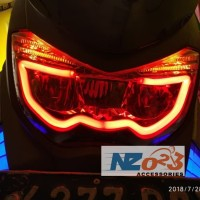 Lampu Sen Senja LED TRUBUS untuk NMAX AEROX LEXI T10 9SMD