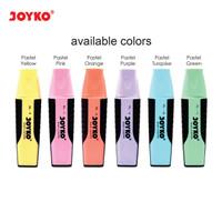 Highlighter / Stabilo Joyko Warna Pastel HL 6-11