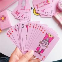 Pink Sakura Playing Cards For Gift/Party/ Cards Game / Kartu Remi