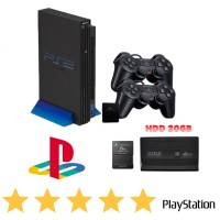 PLAYSTATION PS2 SONY HDD USB 20GB SPEED