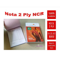 Buku Nota Kontan Kecil 2 Ply Ncr - Paperline