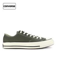 Sepatu Converse Pria Sneakers Low Chuck 70 Green Original