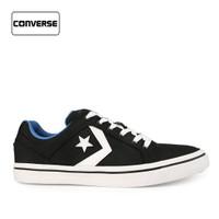 Sepatu Converse Pria Sneakers El Distro Black Original