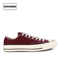 Sepatu Converse Pria Sneakers Low Chuck 70 Maroon Original