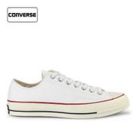 Sepatu Converse Pria Sneakers Low Chuck 70 White Original