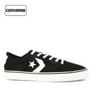 Sepatu Converse Pria Sneakers Star Replay Star Black White Original