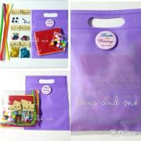 Souvenir Bingkisan Paket Ulang Tahun Anak - Suvenir Ultah Paket A