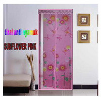 Tirai Magnet Jojo Pres Sunflower Pink