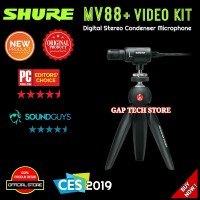 Shure MV88+ Video Kit / MV88 Plus Digital Stereo Condenser Microphone