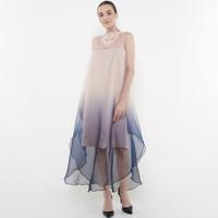 ATELIER MODE Cocktail Dress Ombre Organza Hazel Dress Wanita