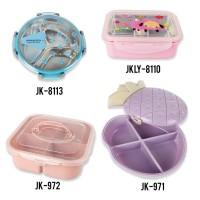 Kotak Makan / Kotak Permen Portabel Dengan Bahan Plastik Dan Warna