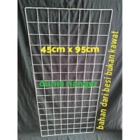 Jaring ram gantungan aksesoris ukuran 45x95 cm