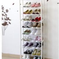 Rak sepatu ajaib 10 tingkat amazing shoes rack organizer multifungsi