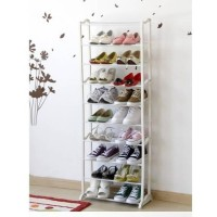 Rak sepatu ajaib 10 tingkat/Rak sepatu susun 10 tingkat/Amazing shoes