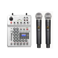 Termurah FOLE F-12T-USB KTV Stage DJ Audio Mixer Mixing Console with