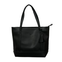 Tote Bag Zipper Emily - Black Beauty Gum