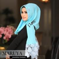 Terbaru Kerudung Instan Maruya Ori Flow. Jilbab Khimar Hijab Instan