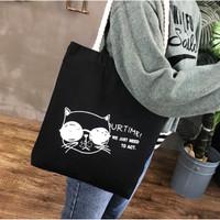 TC55 Our Time Cat Tote Bag / Tas Wanita