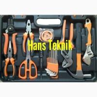 ToolKit 100 Pcs ToolSet Toolbox Tool Set Kit Gergaji Palu Tang Kunci