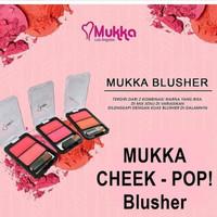 MUKKA CHEEK-POP BLUSHER B27 | BLUSH ON MUKKA - 01