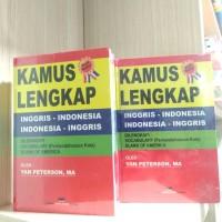 ORIGINAL Kamus Inggris Indonesia - Yan Peterson,MA