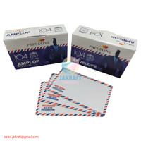 Amplop Putih Airmail PAPERLINE 104 isi 100 (95 x 152 mm) 80 Gram Gsm