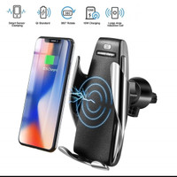 WIRELESS CHARGING CAR HOLDER PREMIUM FOR IPHONE X / XR / XS MAX / S10