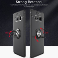 Samsung Note 8 fingerprint iRing Invisible TPU Soft Case