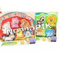 Fisher Price Laugh & Learn Farm Animal Puzzle Mainan Bayi Original