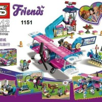 SY 1151 Pesawat Air Plane City Tour SY1151 Minifigure Friends