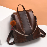 Tas Ransel Gendong Backpack Wanita Vernyx Giona Import TSX688 Brown