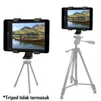 Clamp Tablet iPad Tab Holder Bracket Mount for Tripod Monopod Tongsis