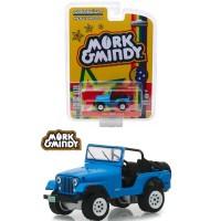 Greenlight 1/64 1972 Jeep CJ5 Mork & Mindy (1978-1982 TV Series)
