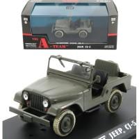 Greenlight 1/43 The A-Team Jeep CJ5 (1983-87 TV Series)